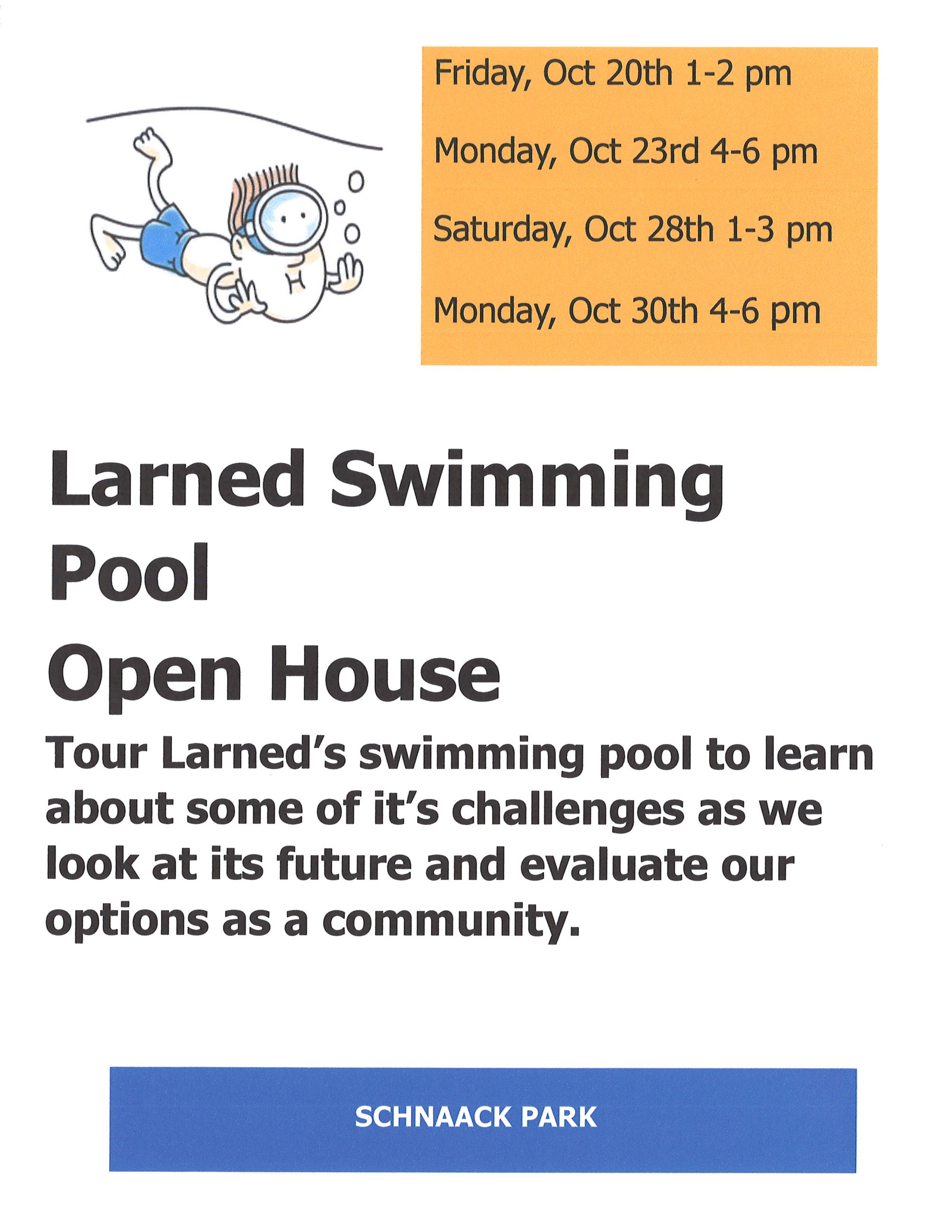 Pool Open House 2017