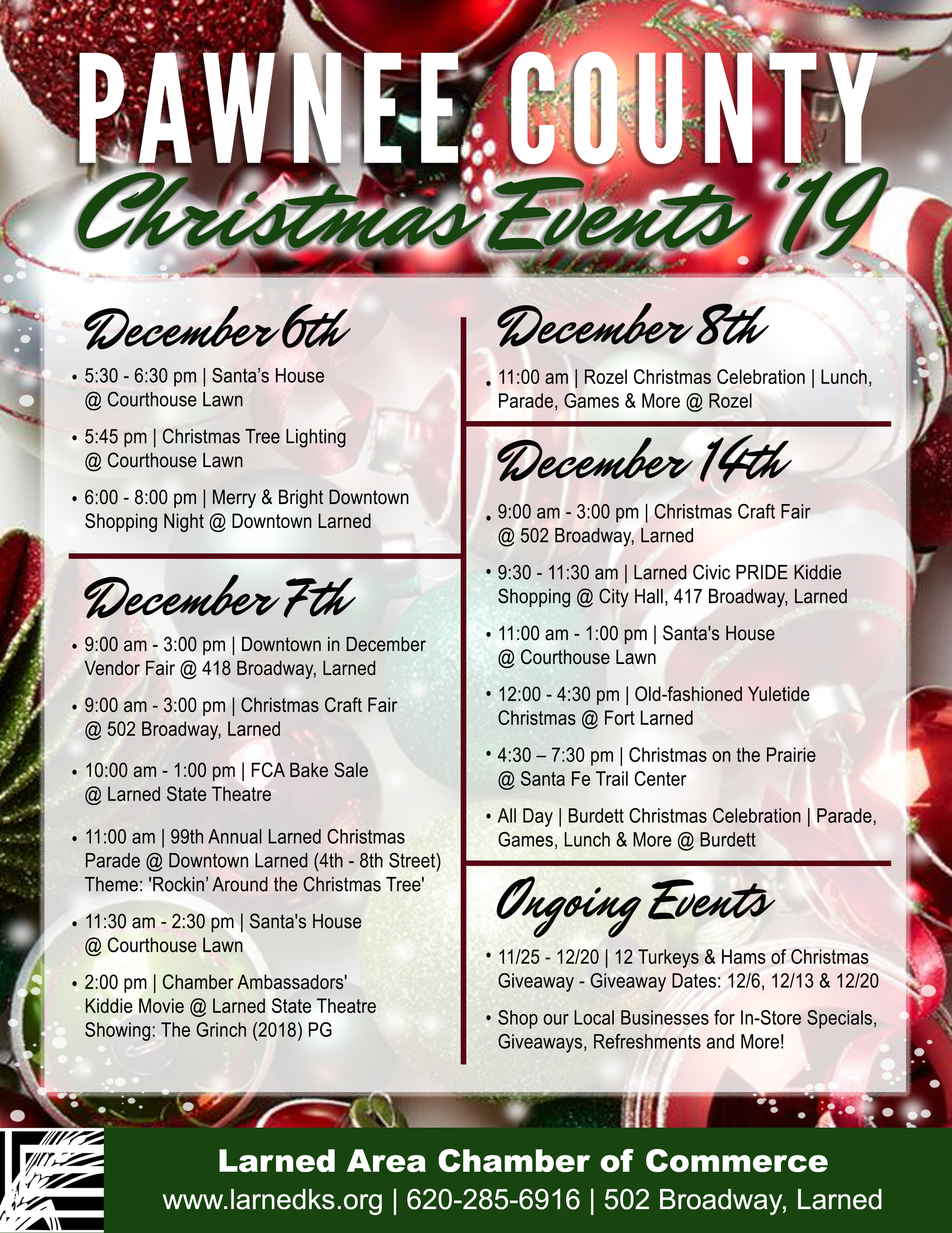 Chamber Christmas Events 2019 12