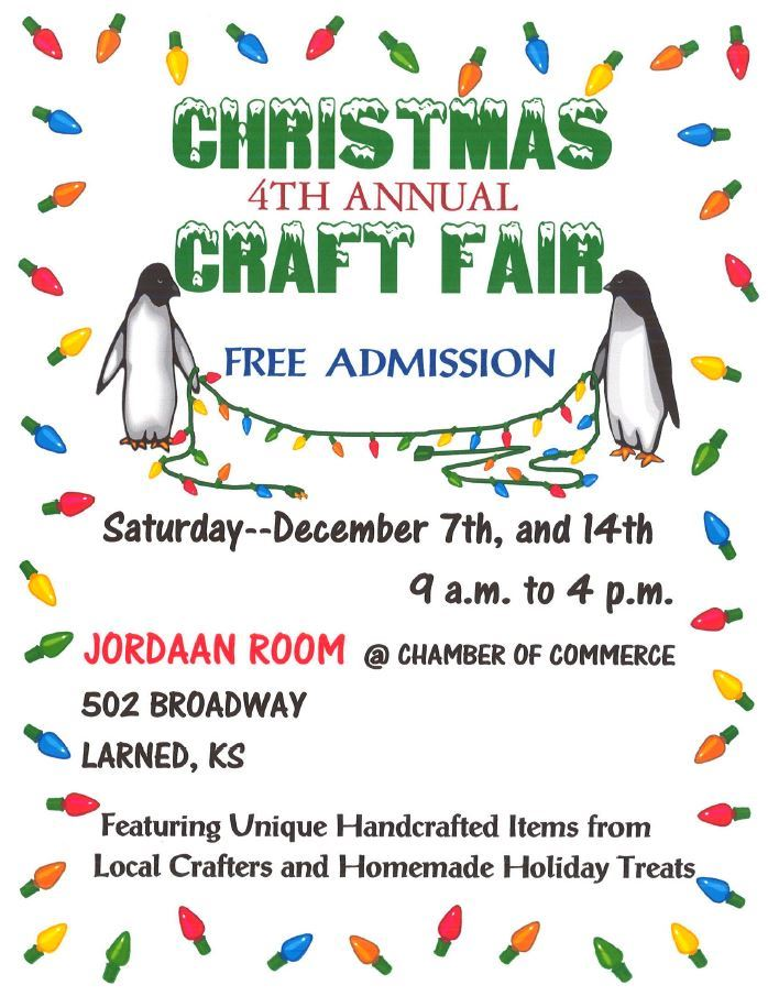 Meyer Craft fair poster